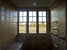 Shower at the 2012 HGTV Dream Home