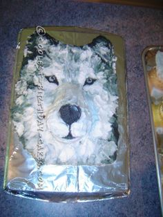 Cool Realistic Wolf Cake For My Daughter - 2