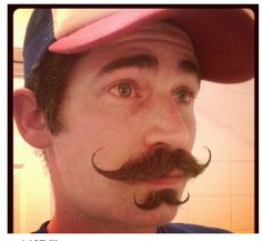 Double Handlebar Mustache Handlebar Mustache, Beard No Mustache, Moustache, Beard Hat, Laugh Out Loud, Sexy Beard, Great Beards, Fuzz, Facial Hair