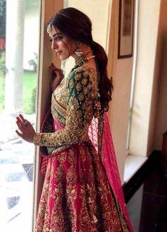 Indian Bridal Lehenga, Indian Bridal Outfits, Bridal Dresses, Pink Bridal Lehenga, Bridal Sari, Indian Bridal Fashion, Bollywood Bridal, Bollywood Lehenga, Bollywood Party