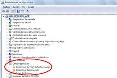 Reparar errores de controladores o drivers en Windows 7