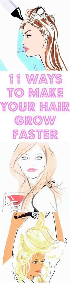 13 Ways to Make Your Hair Grow Faster For a lucky few enviably long hair just happens. For the rest of us it takes patience effort and some very deliberate changes in our haircare routine. If it seems like your hair just isnt Hair A, Grow Hair, Fast Hair Growth Secrets, How To Grow Your Hair Faster, Natural Hair Styles, Long Hair Styles, Platinum Hair, Celebrity Hair Stylist, Strong Hair