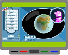 SMART BOARD - Maps, globes & geography