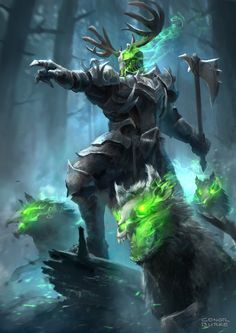 Lord of the Hunt by conorburkeart.deviantart.com on @DeviantArt