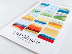 Give them a year of colorful art with Eve Sand's vibrant calendar.