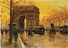 The Arc de Triomphe - Paris