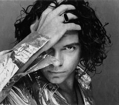 michael hutchence_INXS, 37  One of my fav's from the 80's