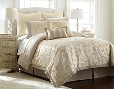 Amrapur 38EBJQCFKRNKG 8Piece Jacquard Comforter Set Karan King ** Check out the image by visiting the link.