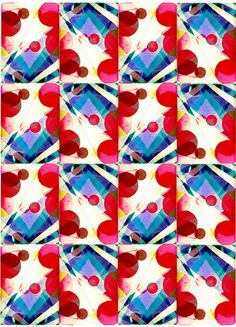 Patterns and Print by Grace O'Leary, via Behance