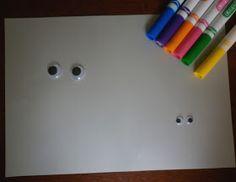 House of Baby Piranha: Wiggly Eye Drawing Starter