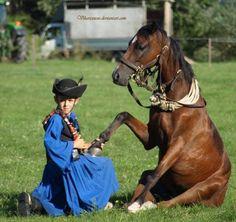 Csikós - arvalanyos kalap karikas ostor es pitykes mente a lo az okosabb. Budapest Hungary, Beautiful Horses, Riding Helmets, Folk Art, Best Friends, Creatures, Costumes, Children, Hats