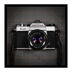 Pentax K1000 with 50mm f2 Asahi lens and strap♥♥♥
