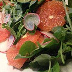 Ensalada de espinacas y cítricos @ allrecipes.com.mx