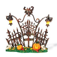 """Department 56: Products - """"Gothic Gate"""" - View Products"""