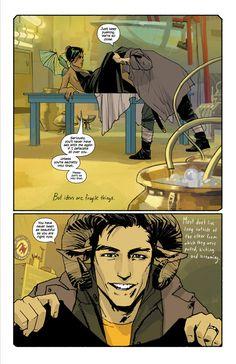 Fiona Staples | Saga by Brian K Vaughan | www.geeksofdoom.com