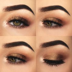 Warm Summer Eye Makeup