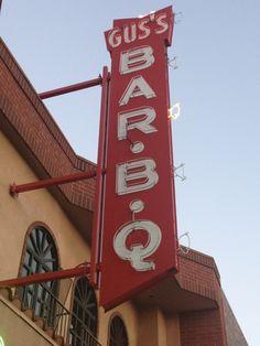 Gus's BBQ in South Pasadena, CA