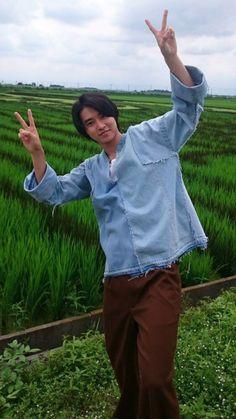 "Kento Yamazaki.. 山﨑賢人 TBS ""Rikuou"" @ Gyoda"