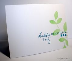 Lovely CAS card from Simplicity blog.