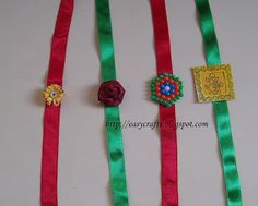 Easy Crafts - Explore your creativity: Handmade Rakhis Easy Crafts, Diy And Crafts, Rakhi Making, Japanese Nature, Funeral Thank You, Birthday Box, Christmas Humor, Greeting Cards Handmade, Quilling
