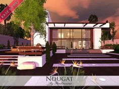 Nougat house by Pralinesims - Sims 3 Downloads CC Caboodle