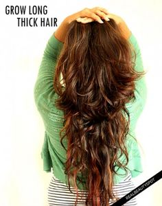 Natural ways to get thicker and longer hair