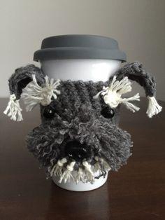 Pattern for Schnauzer Crochet Cozy by HookedbyAngel on Etsy