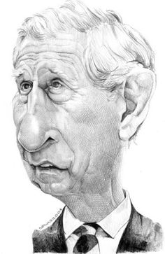 Prince Charles by unknown and very talented cartoonist  (caricature)  ROYALTY - http://dunway.us