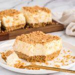 Potluck Desserts, Pudding Desserts, No Bake Desserts, Dessert Recipes, Dessert Ideas, Easy Desserts, Pumpkin Trifle, No Bake Pumpkin Cheesecake, Peach Pie Recipes