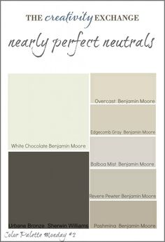 Urbane Bronze by Sherwin Williams was by far the more popular color from this palette and I have heard from so many of you that you have painted your doors and interior and exterior trim in this gorgeous color and love it.  Again, I have heard nothing but great things about this color and it's certainly one of the most popular dark browns out there!