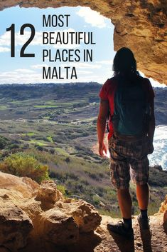 Top 12 Most Beautiful Places in Malta including amazing natural spots, beaches, cities and buildings. Things to do in Malta | Malta Travel | Malta Ideas | Valletta | Gozo | Beaches Malta | Natural Wonders Malta | Visit Malta Malta Travel Guide, Travel Tips For Europe, Malta Italy, Malta Malta, Beautiful Places To Visit, Cool Places To Visit, Places To Travel, Travel Destinations, Malta Holiday