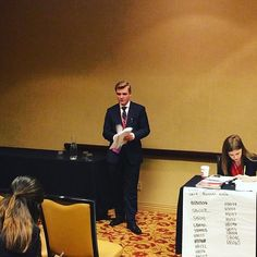 "Nicholas Noble from McKinney High School speaks to get his bill adopted (12 weeks paid parental leave for all live birth or adoption). Nicholas says ""this is an important step in the child's life being able to bond with the parents/guardian(s)."" (A.H) #txyg2017 : @texasyg"