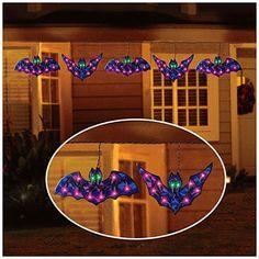 halloween bat lights.Halloween decors