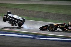 Pastor, and Esteban, Bahrain GP, 2014.