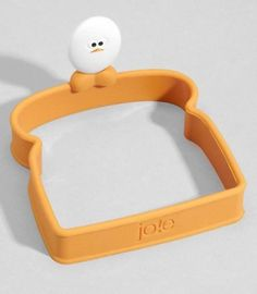 This toast-styled egg mold ($10). | 29 Products That Will Make You Love Breakfast Even More