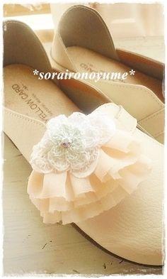 *crochet accessory* by *soraironoyume* MISHA  http://ameblo.jp/soraironoyume-misha/entry-11284625857.html