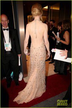Nicole Kidman's Dress Straps Broke During the Oscars 2017