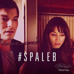 "S7 Ep4 ""Hit and Run, Run, Run"" - #Spaleb  #PrettyLittleLiars"