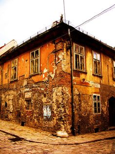 Very old building in Bratislava, Slovakia . Book Visit SLOVAKIA now via… European River Cruises, Bratislava Slovakia, Continental Europe, House Landscape, Old Building, Central Europe, Capital City, Solo Travel, Travel Photos