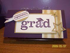 Splitcoaststampers FOOGallery - Chris' Graduation Card-Front