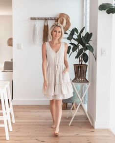 Petite Dresses, Cute Dresses, Beautiful Dresses, Cute Outfits, Summer Dresses, Buy Clothes Online, Button Front Dress, Everyday Dresses, Petite Women