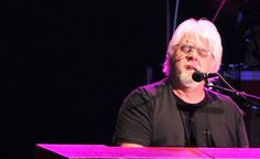 70's soft rocker Michael McDonald, of supergroup Dukes of September, performs at the Sands Steel Stage in South Bethlehem during Musikfest on Wednesday evening.