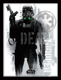 NEW Rogue One Official Posters HD - A Star Wars Story _  Death Trooper