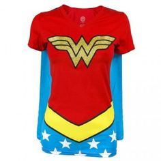 Wonder Woman Caped T-Shirt for those days when you need a boost. ;)