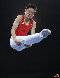 Lu Chunlong - Trampoline - Beijing Olympics 2008 - Mens