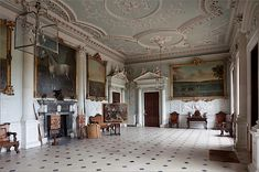 Badminton. The current house, originally dating to the 17th century, has seen a complex series of additions and remodeling through the years...