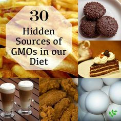 30 hidden sources of GMO's. What to look for when you are reading that label. It's not always so obvious since corn and soy are in almost EVERYTHING!