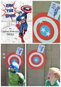 Superhero First Birthday Party Games and Activities - Kid Transit Superhero First Birthday, Superhero Party Games, Avengers Birthday, Kids Party Games, Birthday Party Games, 4th Birthday Parties, Super Hero Birthday, 5th Birthday, Avenger Birthday Party Ideas