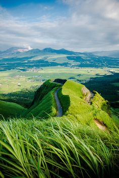 Aso, Kumamoto, Japan www.atimeforbalance.co.uk The perfect place to start creating balance and harmony in your life.