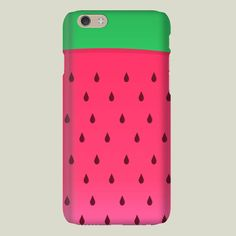 Watermelon iPhone case by AnishaCreations on BoomBoomPrints